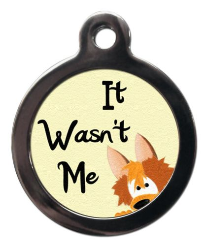 Pet ID Tag It wasn't me